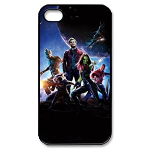 Generic hard plastic Guardians of the Galaxy Cell Phone Case for iPhone 4 4S Black ABC8354618