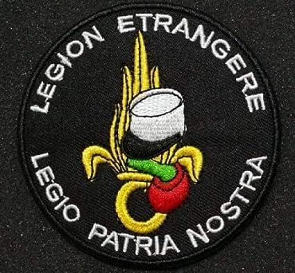 Legión extranjera Velcro parche (K): Amazon.es: Juguetes y juegos