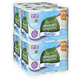Seventh Generation Sustainably Sourced Purely Soft Toilet Paper Bath Tissue Big Rolls, 48 Count