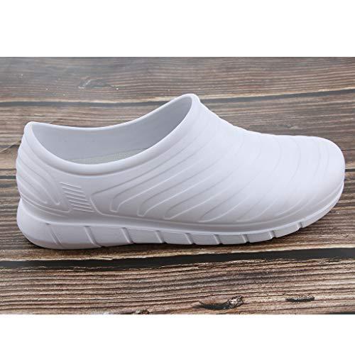 Non Prettyia Sécurité Blanc 40 Glissante Légère Travail Respirante Sabot Unisexe De Chaussure Pour P Hommes wq7FxOndXX