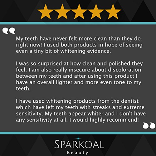 Activated Charcoal Toothpaste with Bonus Bamboo Toothbrush - Best Natural Teeth Whitening - Organic Coconut Oil - Made in USA - Removes Bad Breath and Tooth Stains - Safe Ingredients