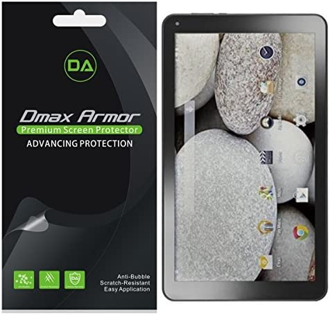 3X Supershieldz Clear Screen Protector For DigiLand 7 inch Tablet DL7006-KB