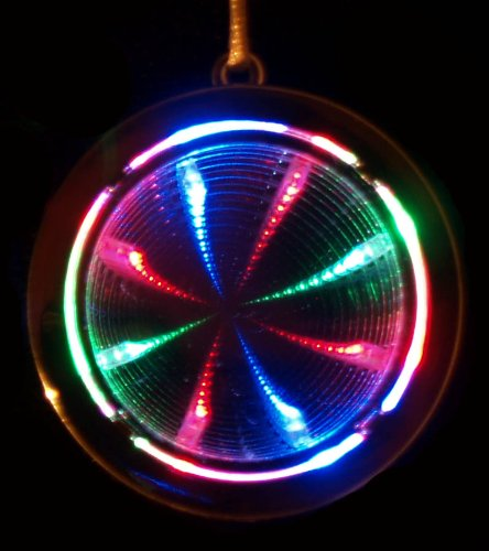 Flashing Panda Pack of 12 LED Flashing Multi-Color Infinity Tunnel (Flashing Tunnel)