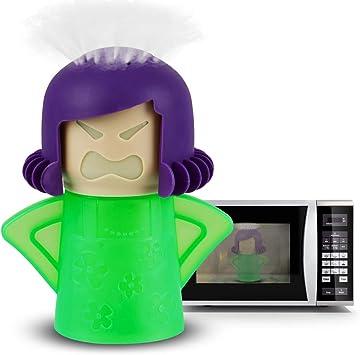 Amazon.com: Angry Mama Limpiador de microondas, Angry Mama ...