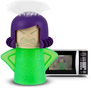 Angry Mama Microwave Cleaner, Microwave Cleaning Doll, Microwave Steam Cleaner Cleans in Minutes, A Funny Unique and Cool Kitchen Gadgets by AODOOR