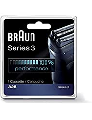 Braun Series 3 Combi 32b Foil And Cutter Replacement Pack, with SmartFoil Technology Captures Hair Growing In All Directions, and Get Back 100% of Your Shaver's Performance
