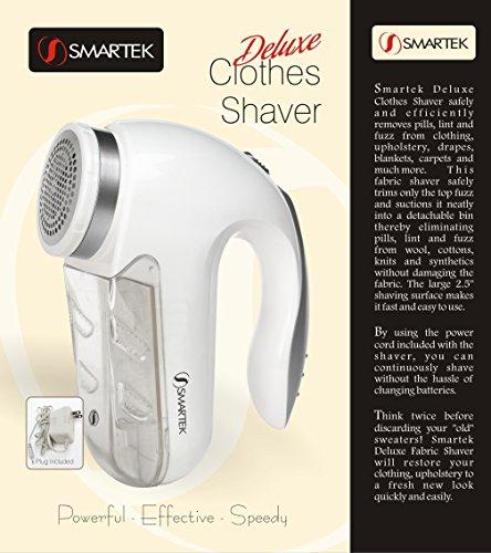 Smartek ST-25 Deluxe Fabric Clothes Garment Shaver Pill, Fuzz, & Lint Remover by Smartek (Image #3)