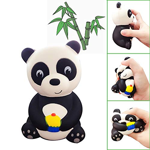 Euone  Squishy Toy Clearance , Jumbo Cute Panda Scented Slow Rising Kids Toys Doll Gift Fun Stress Relief Toy ()