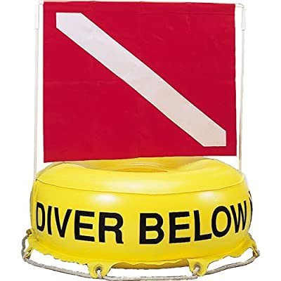 Innovative Scuba Deluxe Flag Diver Below Inflatable Flag And Float Buoy, FL0301
