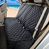 GELOO Bench Car Seat Cover Protector Waterproof, Heavy-Duty and Nonslip Pet Car Seat Cover for Dogs with Universal Size Fits for Cars, Trucks & SUVs