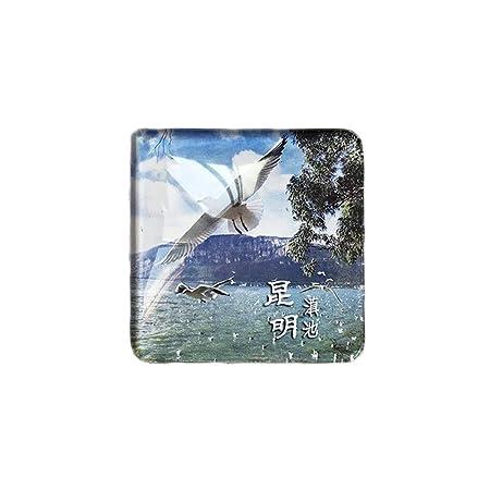 3D Yunnan China Refrigerador Imán de Nevera Cristal de Cristal ...
