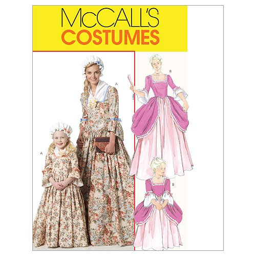 McCall's Patterns M6139 Misses'/Children's/Girls' American Colonial Costumes, Size MISS (Colonial Costumes Patterns Children)