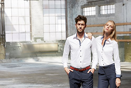 Donna Camicia Bianco Maniche Classico Greiff Lunghe fIqaa