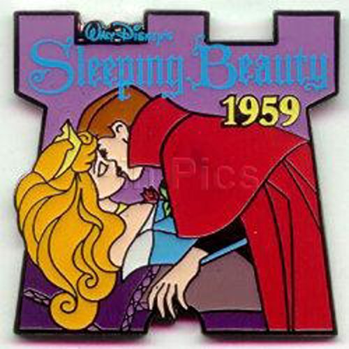 #44 Disney Pin 706 DS - Countdown to the Millennium Series #44 (Sleeping Beauty) Pin ()