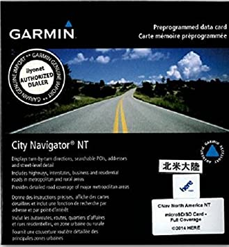 Garmin Karten Erw City Navigator Nord Amerika Usa Amazon De