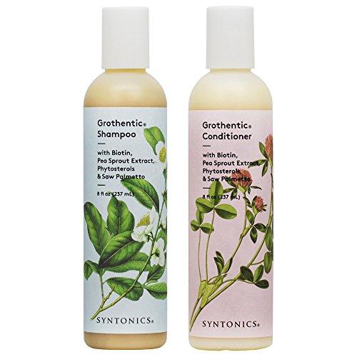 Syntonics Grothentic Shampoo & Conditioner 8oz Duo