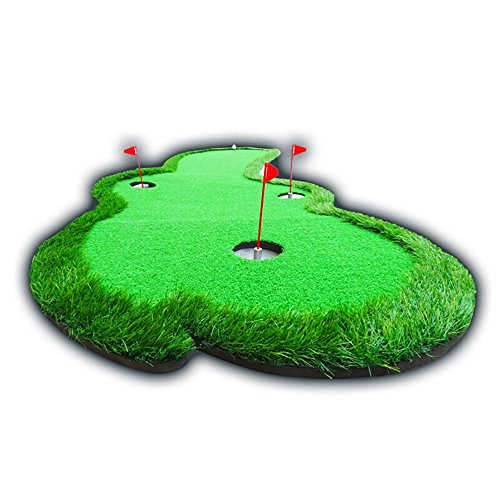 Indoor And Outdoor Golf Mats Swing Practice Blanket Simulation Turf Golf Practice Blanket Length 300cm