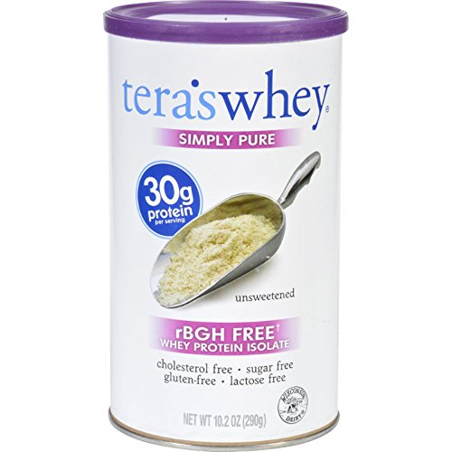 Cheap teraswhey Whey Protein Isolate, Plain 12 oz