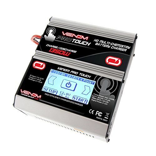 (Venom Pro Touch HD LiPo & NiMH Battery Charger)