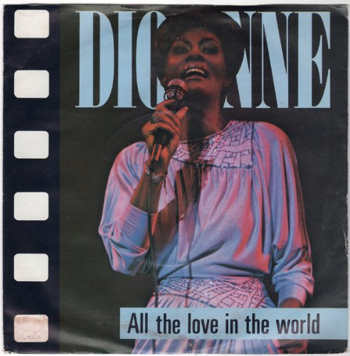 All The Love In The World / It Makes No Difference - Dionne Warwick 7