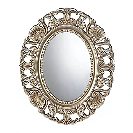 Amazon.com: Wall Mirrors Large, Decorative Bathroom Oval ...
