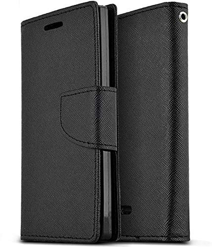 Finaux Luxury Mercury Magnetic Lock Diary Wallet Style Flip Cover Case for Samsung Galaxy Core Prime  G360H