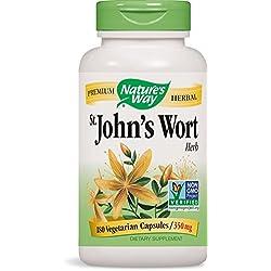 Nature's Way St. John's Wort Herb 350mg, 180 VCaps