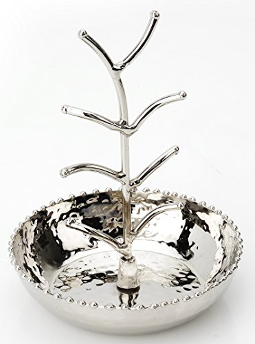 Pizzazz Bridal Beaded Ring Jewelry Catcher Holder Tree ()