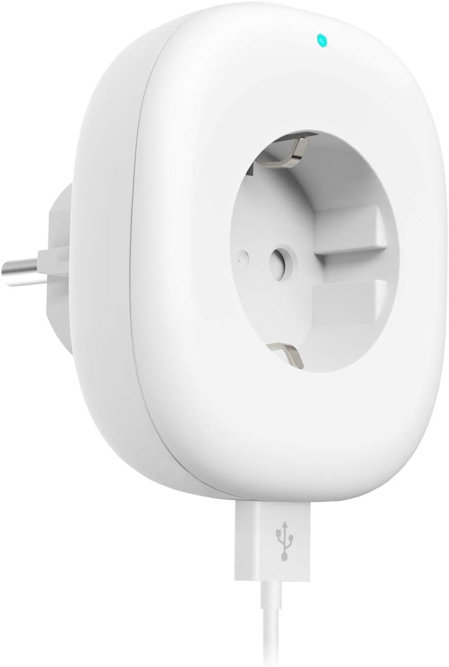 Smart Steckdose Mit Usb Port Maxcio Alexa Wlan Steckdose Kompatibel Mit Alexa Google Home App Steuerung Von Ios Und Android Mit Timing Funktion Kein Hub Erforderlich 10a 2200w Baumarkt