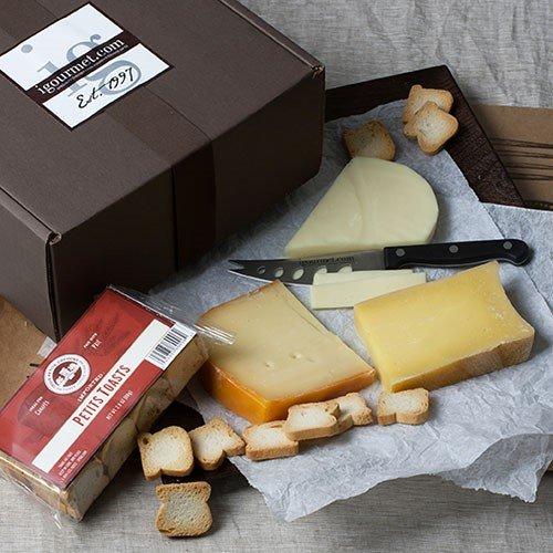 Chardonnay Cheese Assortment in Gift Box (25.2 ounce) (Best Box Wine Chardonnay)