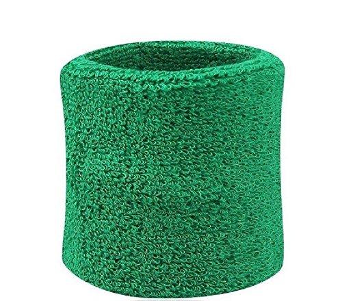 Omeny tergisudore da palestra sudore Wristband sport polsiere (verde)