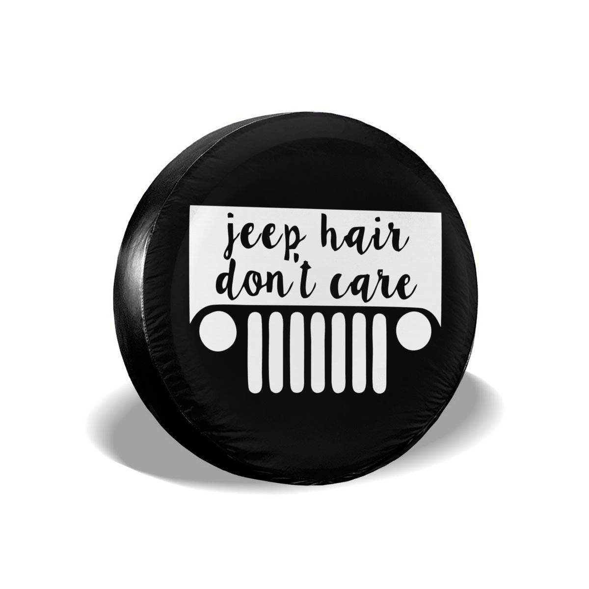 14 15 16 17 I M Black of The Family Spare Tire Cover Polyester Universal Dust-Proof Waterproof Wheel Covers for Jeep Trailer RV SUV Truck and Many Vehicles