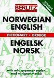 Berlitz Norwegian-English, English-Norwegian Pocket Dictionary (Berlitz Bilingual Dictionaries) by Berlitz Guides (1995-07-20)
