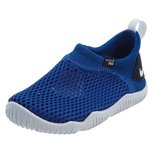 NIKE Aqua Sock 360 (TD) Boys Water-Shoes 943759-402_9C - Game Royal/White-Obsidian ()