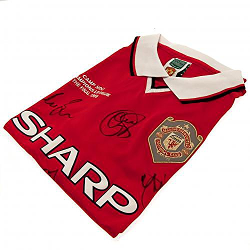 Manchester United F.C - Signed Shirt (1999 CHAMPIONS LEAGUE FINAL) by Bourne Gifts