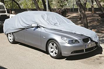 QUALITY WATERPROOF CAR COVER R230 MERCEDES SL HEAVY DUTY COTTON LINED SIZE L
