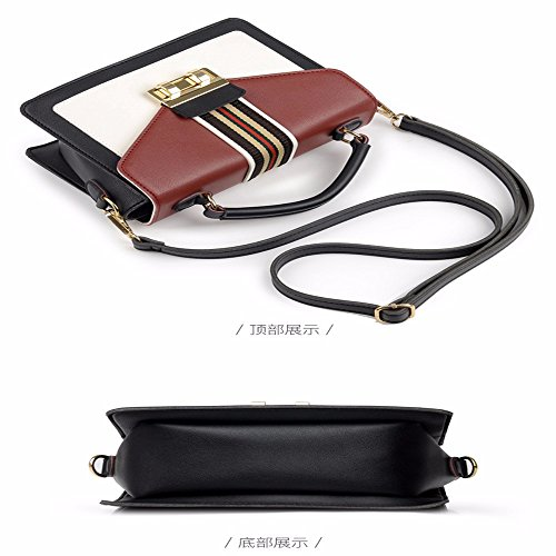 Bags Small Wristlet PU Shoulder with Cross Clutch Women's Capacity Soft Body MSZYZ Pockets Leather Vintage Shoulder Claret Shoulder Large Many Casual InvCZqwZg