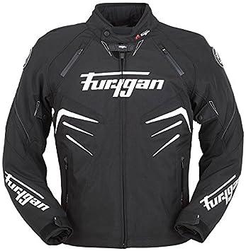 bc429109093ba Furygan Skull Vented jacket - black white  Amazon.co.uk  Car   Motorbike