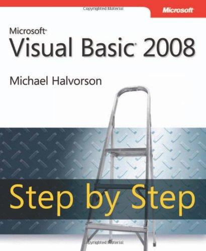 Microsoft Visual Basic 2008 Step by Step