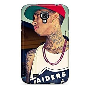 Protector Hard Cell-phone Cases For Samsung Galaxy S4 (QhK8862LDSB) Custom HD Tyga Pictures