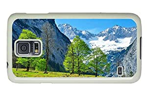 Hipster indestructible Samsung S5 Case austrian alps PC White for Samsung S5