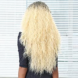 Hot Sale! Sunfei Wig,Womens Shaggy Afro Curly Heat Resistant Synthetic Fashion Wig Hair for Black Women (05)