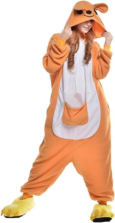 Pijamas Adultos Animales-Disfraz Anime Cosplay Ropa de Dormir Franela Traje Unisex Homewear