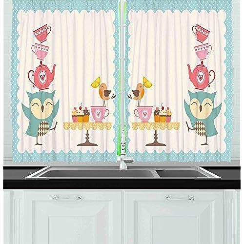 Vintage Kitchen Curtains: Amazon.com