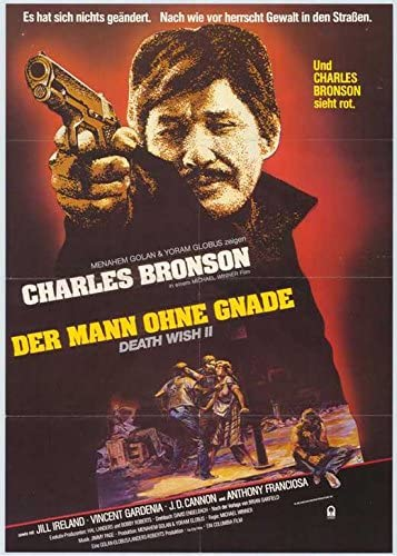 Death wish 2 Charles Bronson movie poster print