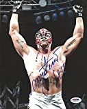 Rey Mysterio Signed WWE 8x10 Photo COA Picture Auto'd Lucha Underground - PSA/DNA Certified - Autographed Wrestling Photos