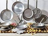De Buyer MINERAL B Round Carbon Steel Fry Pan 12.5-Inch - 5610.32