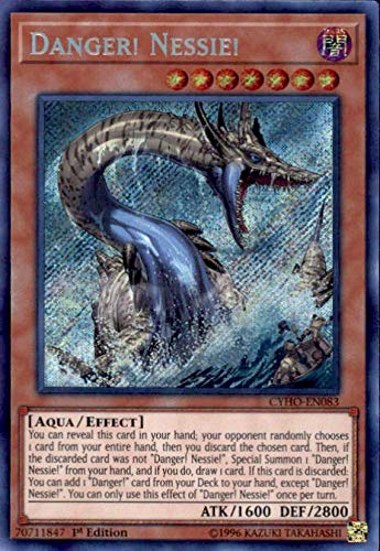 Yu-Gi-Oh! - Danger! Nessie! - CYHO-EN083 - Secret Rare - 1st Edition - Cybernetic Horizon