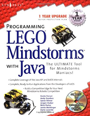 Programming Lego Mindstorms with Java (With CD-ROM) - Giulio Ferrari