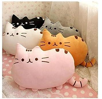 Amazon.com: 40 cm pusheen el gato corto suave felpa juguetes ...